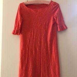 Lilly Pulitzer pink T-shirt dress